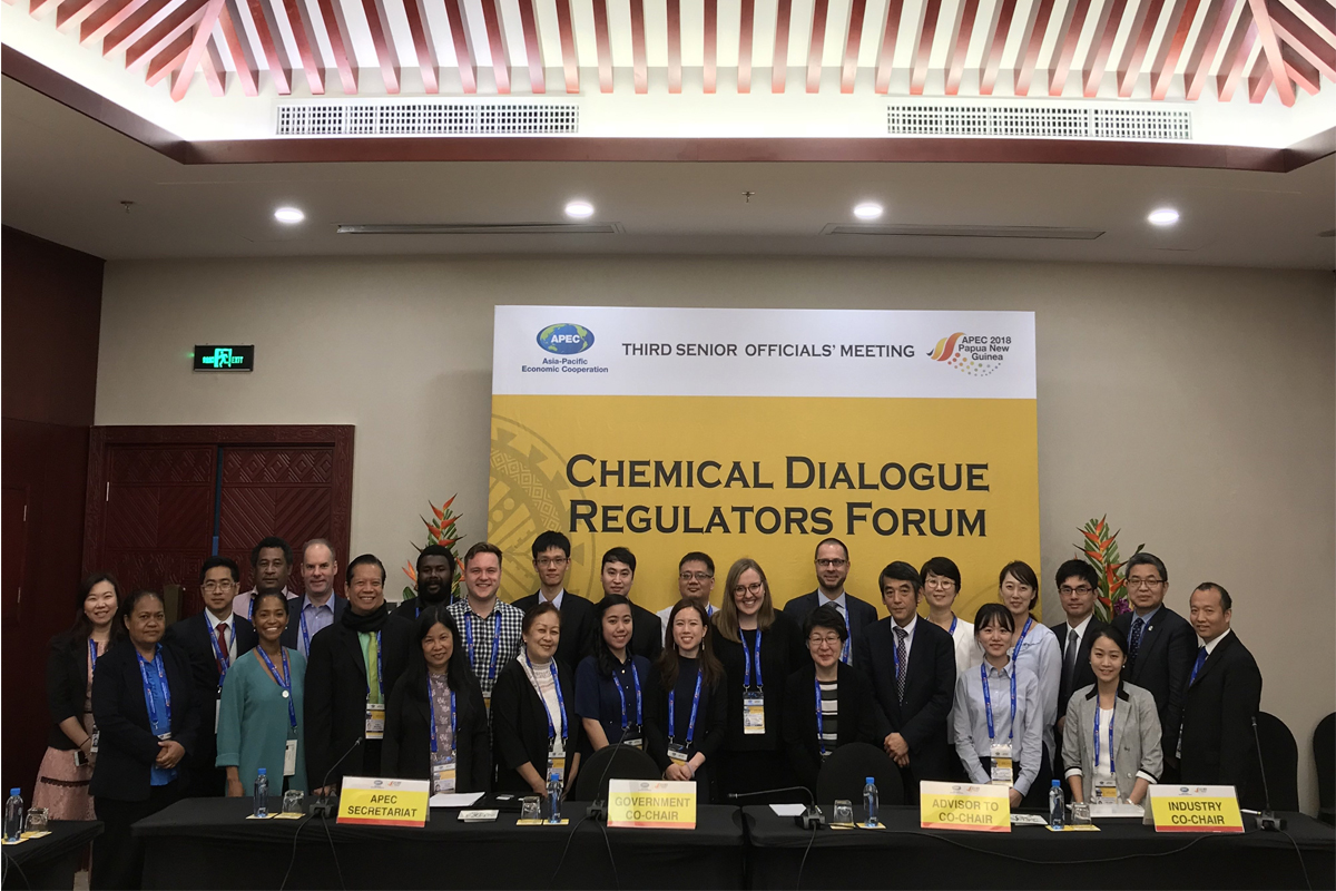 Face-to-face meeting of the virtual working group on data exchange within the framework  of the Chemical Dialogue (APEC CD)